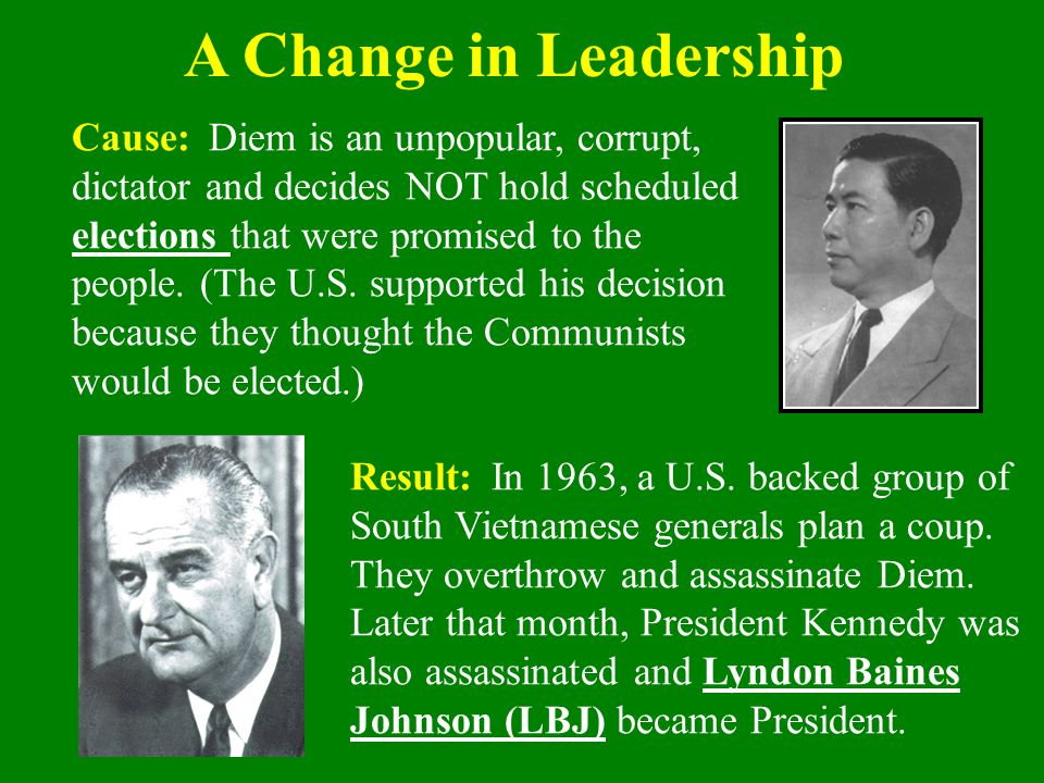 A Change in Leadership