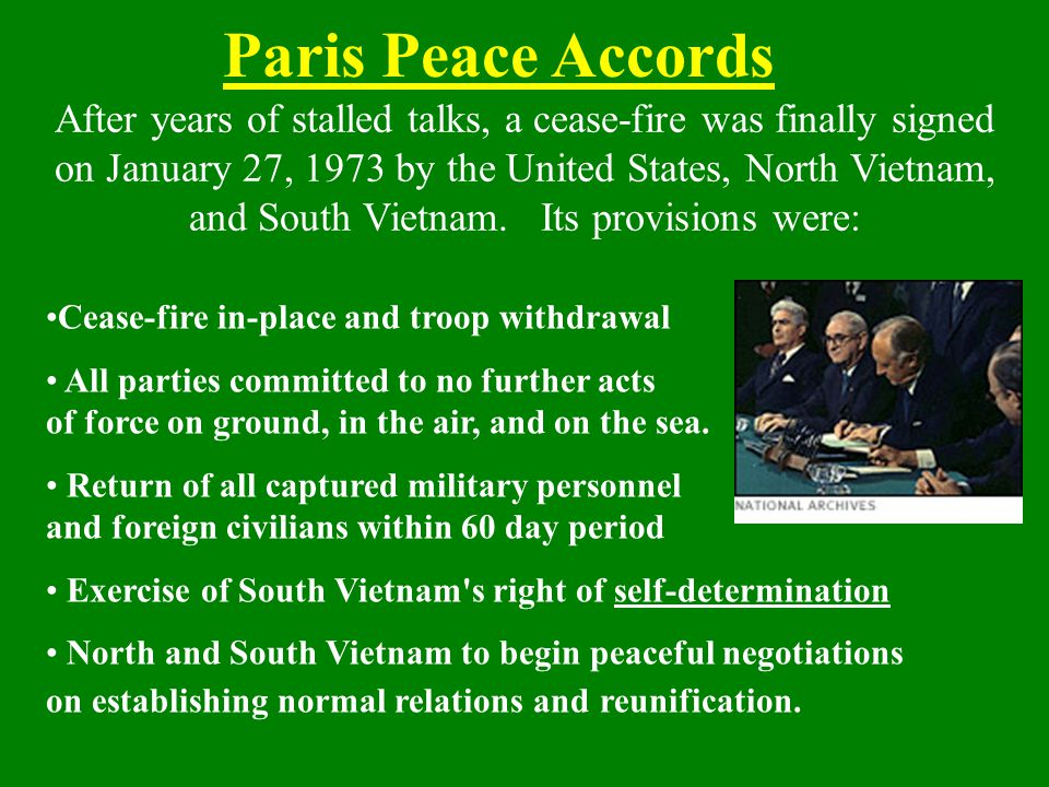 Paris Peace Accords