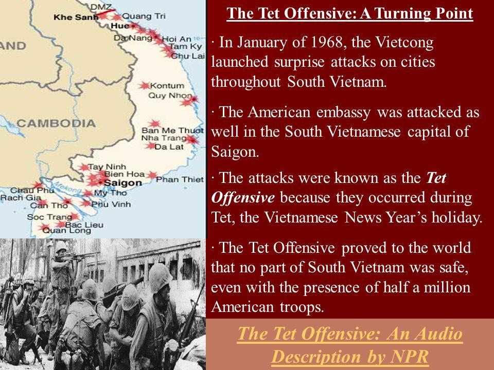 The Tet Offensive: An Audio Description by NPR