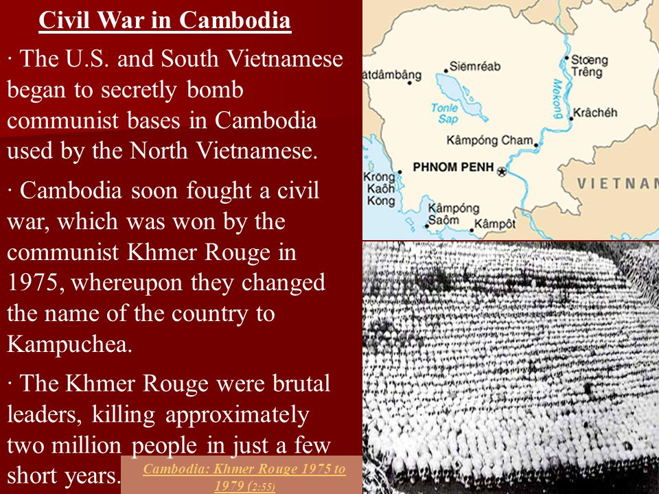Cambodia: Khmer Rouge 1975 to 1979 (2:55)