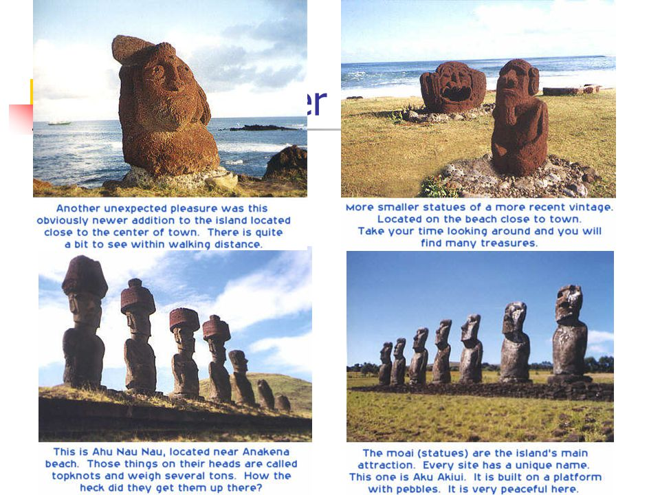 The Easter Island of Chile