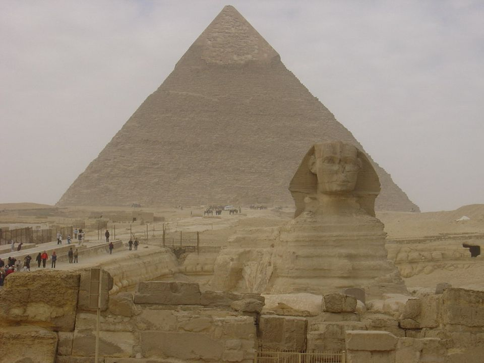 The Great Pyramid in Giza, Egypt