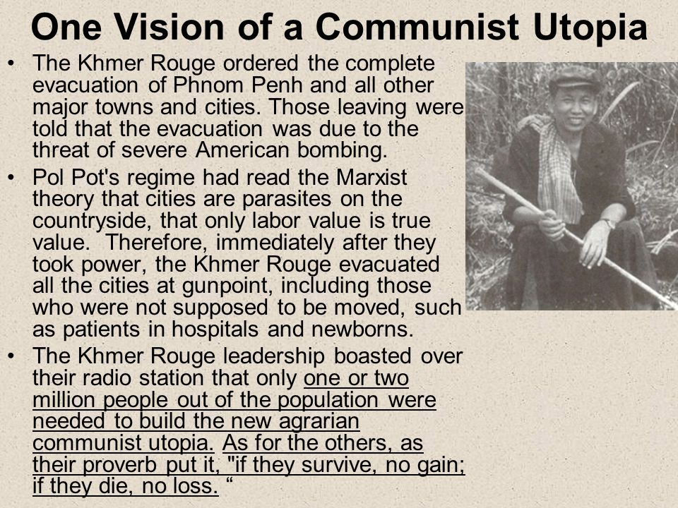 One Vision of a Communist Utopia