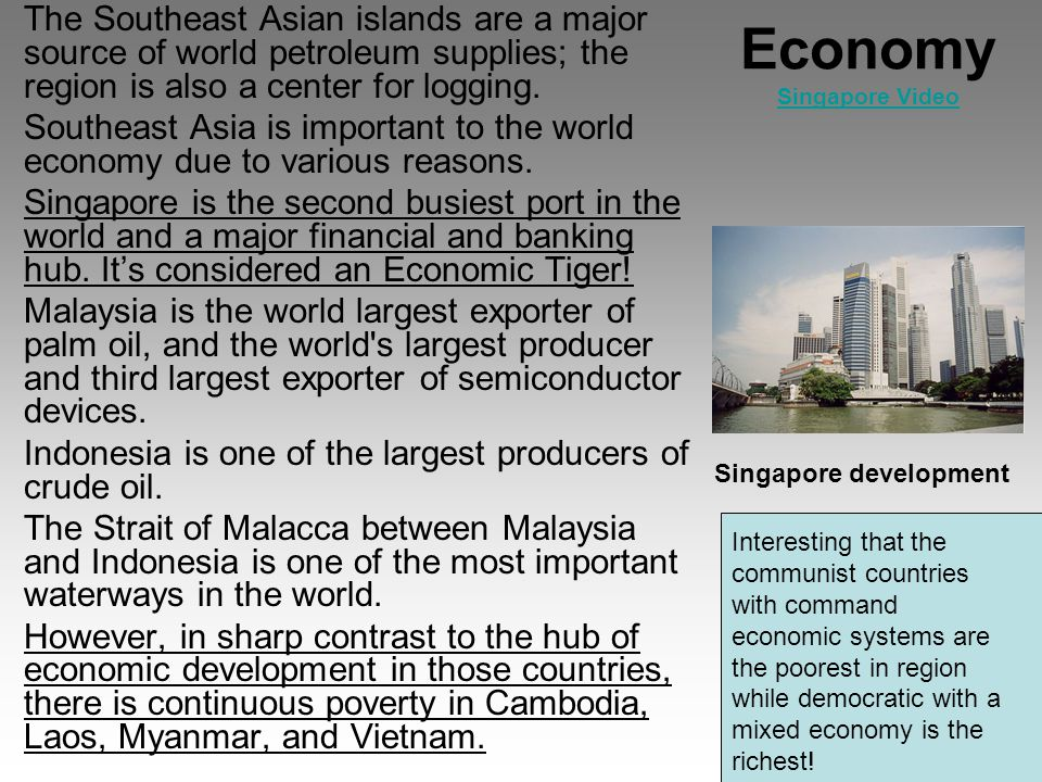 malaysian mixed economy To improve the business climate in malaysia, the malaysian government  but sends a mixed message on  goods sold into the malaysian economy by companies.