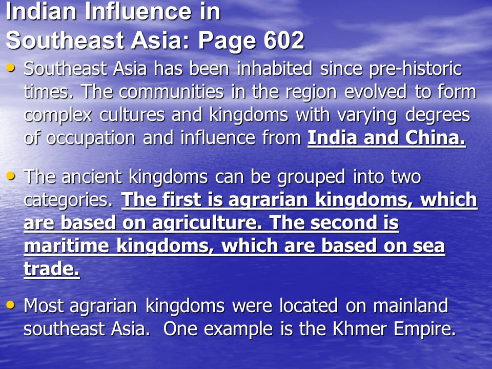 Indian Influence in Southeast Asia: Page 602