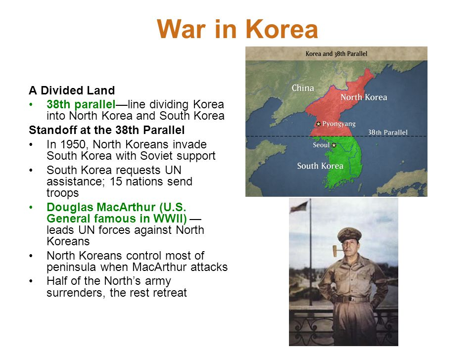 War in Korea A Divided Land