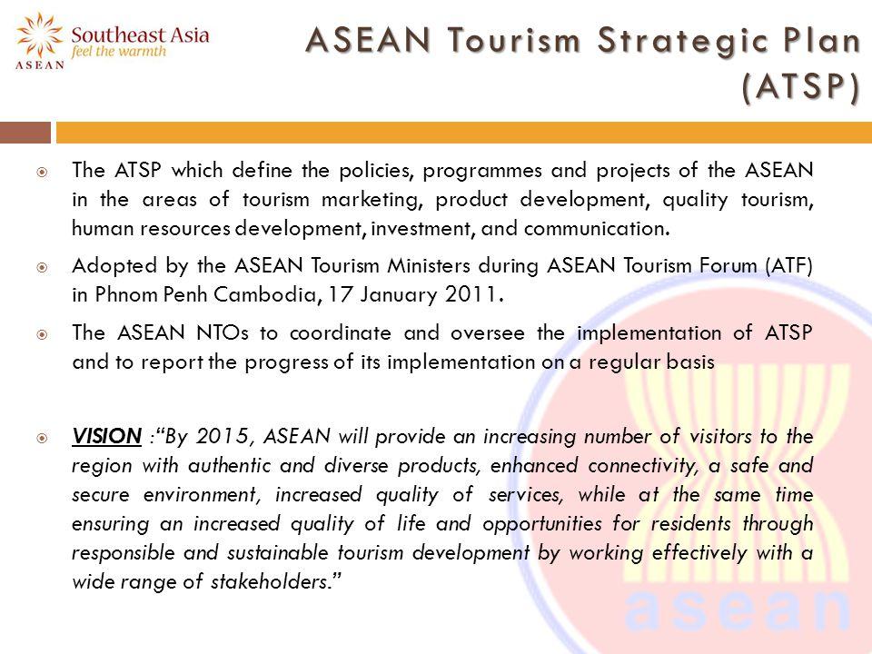 ASEAN Tourism Strategic Plan (ATSP)