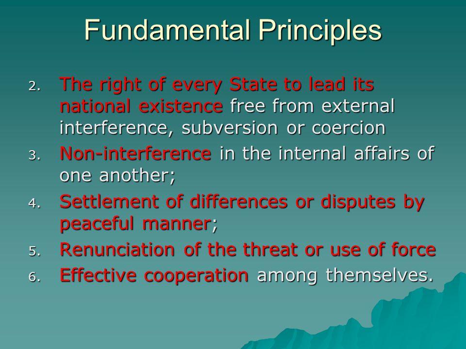 Fundamental Principles