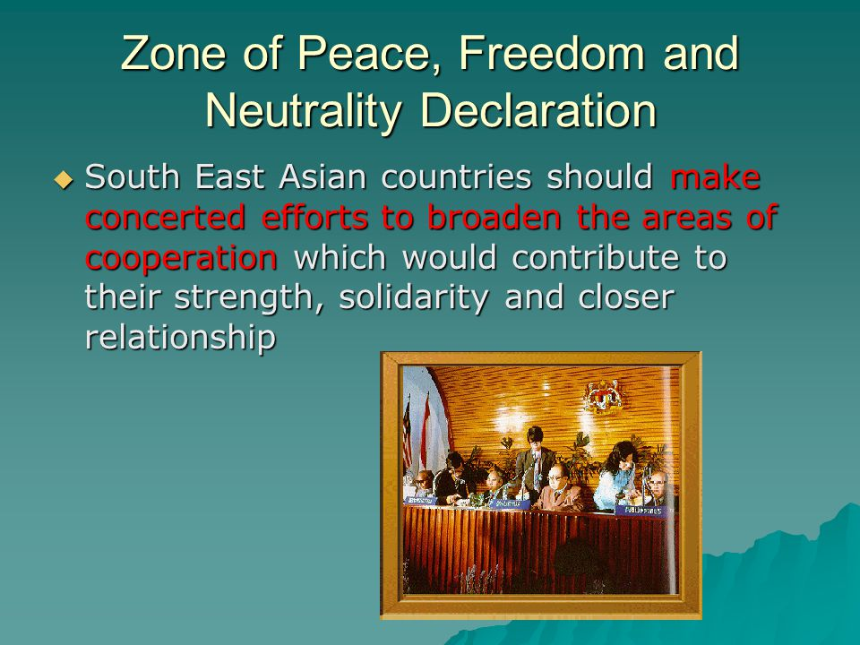 Zone of Peace, Freedom and Neutrality Declaration