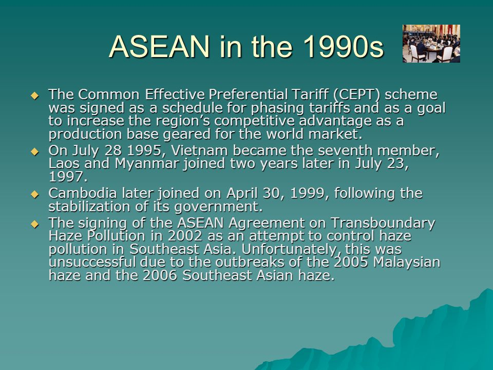 ASEAN in the 1990s