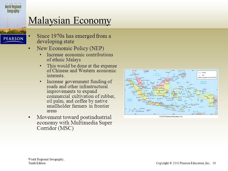 Malaysian Economy Since 1970s has emerged from a developing state