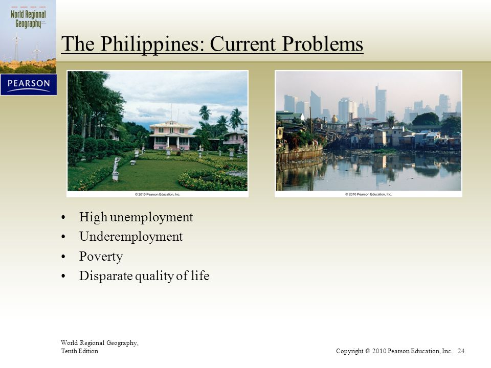 The Philippines: Current Problems
