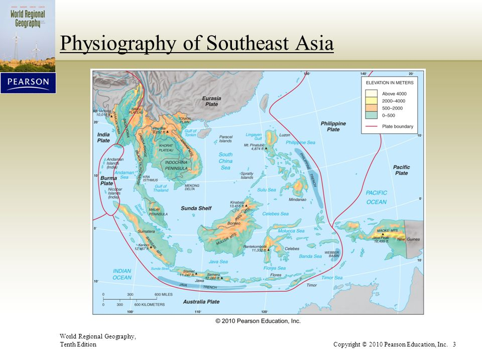 Physiography of Southeast Asia