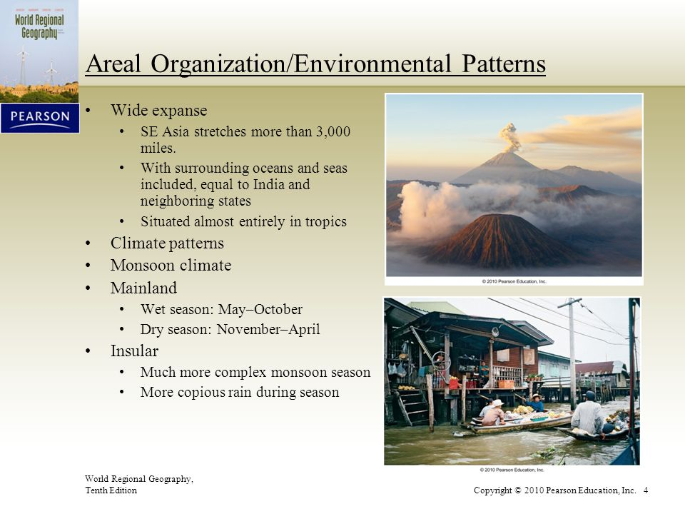 Areal Organization/Environmental Patterns