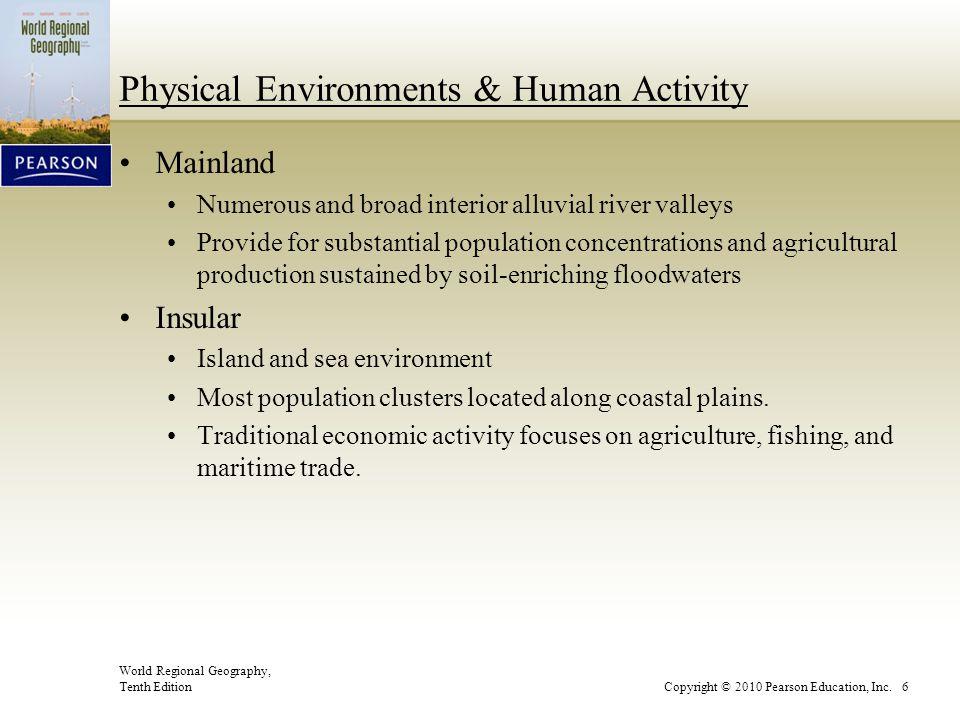 Physical Environments & Human Activity