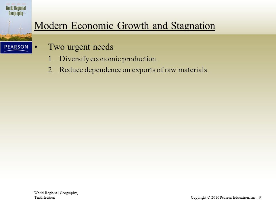 Modern Economic Growth and Stagnation