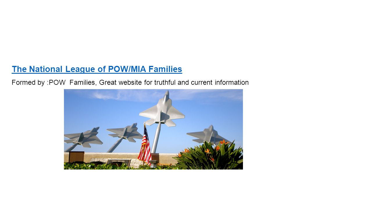 The National League of POW/MIA Families