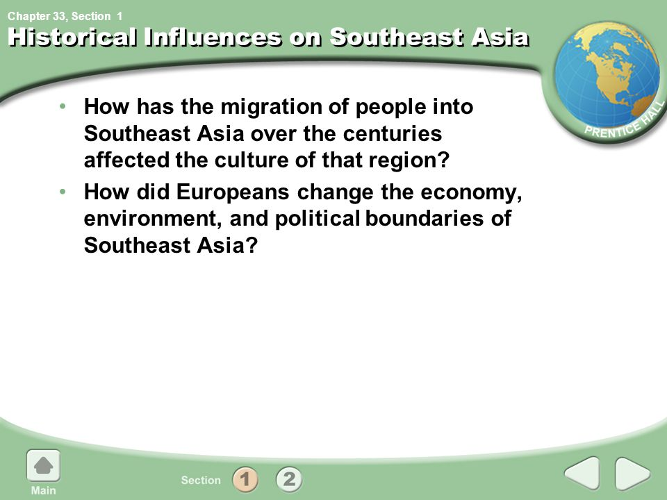 Historical Influences on Southeast Asia