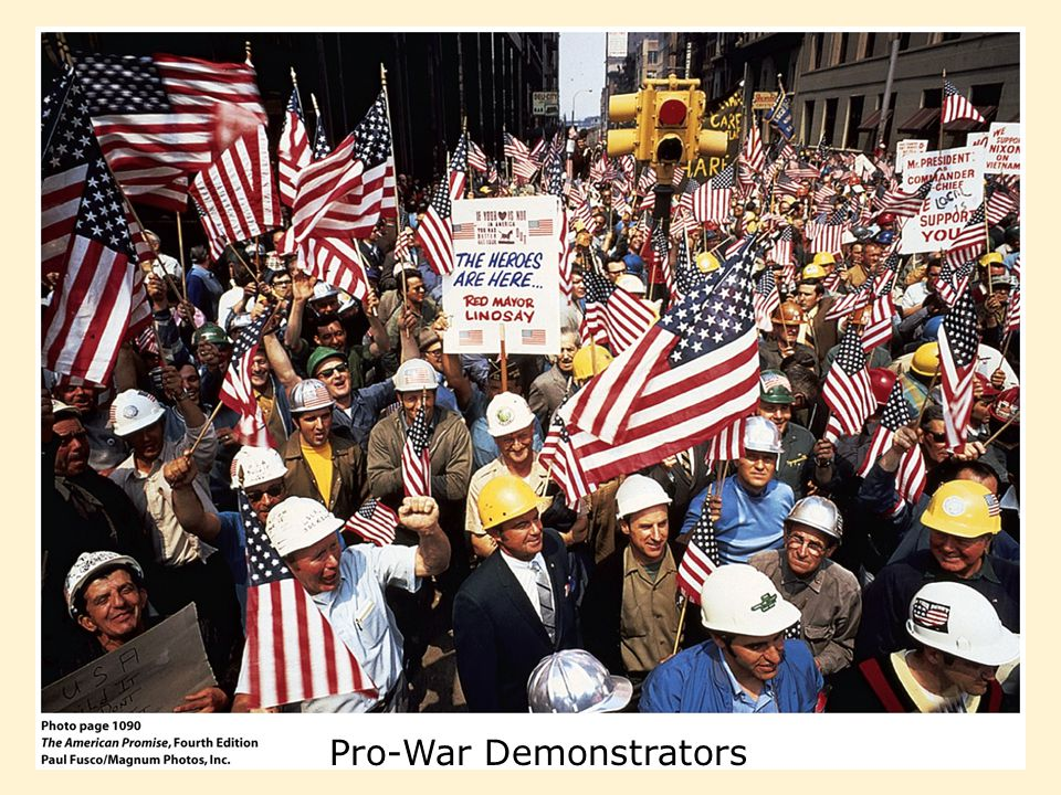 Pro-War Demonstrators