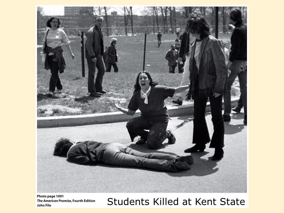 Students Killed at Kent State