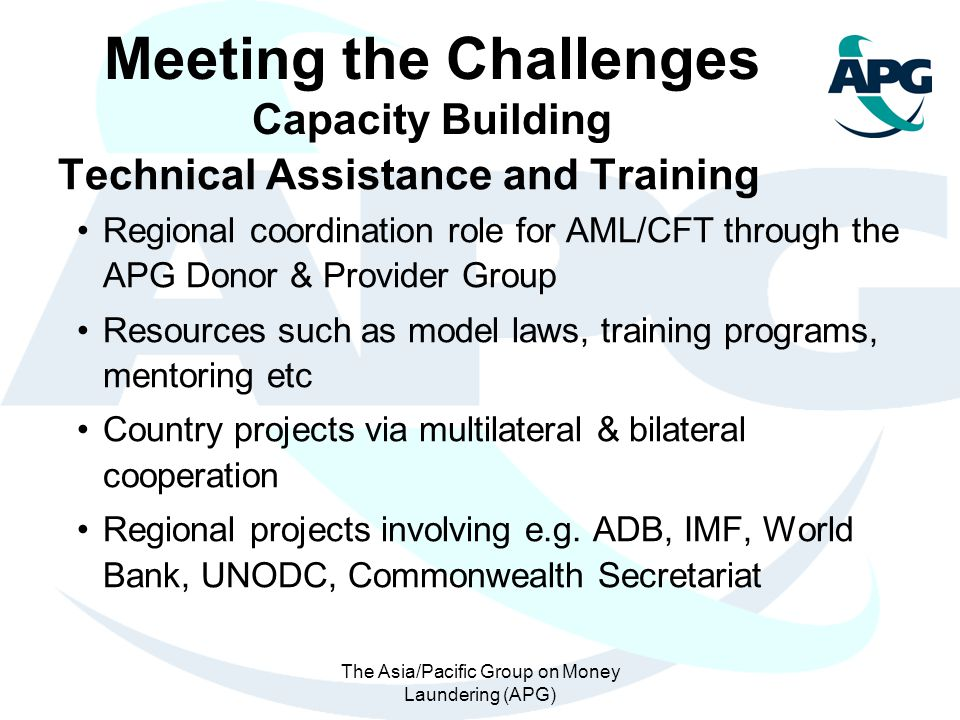 Meeting the Challenges Capacity Building