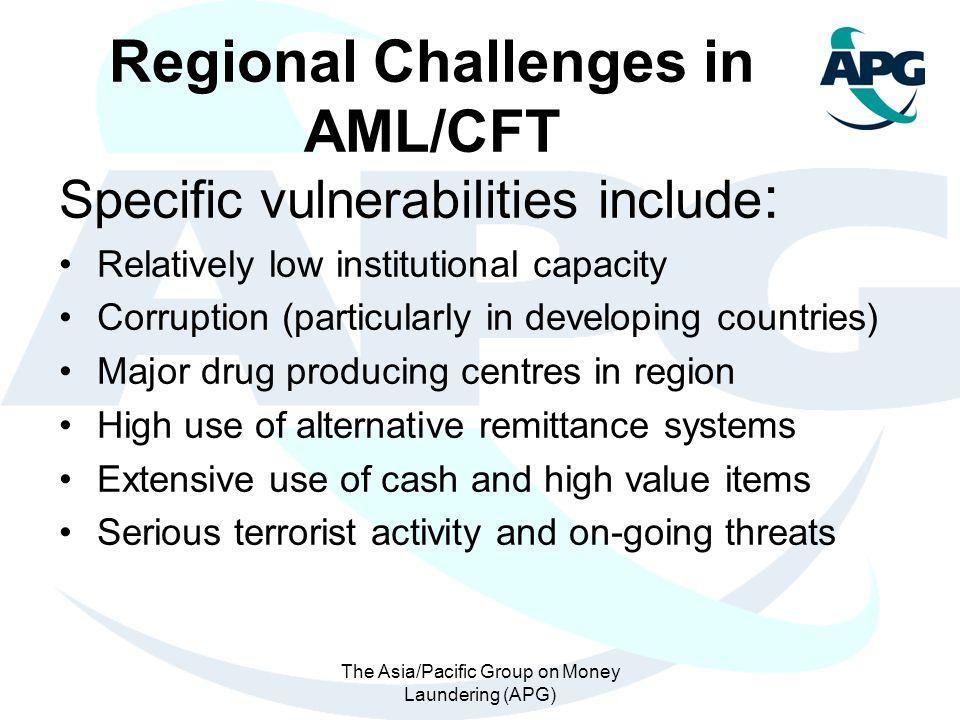 Regional Challenges in AML/CFT