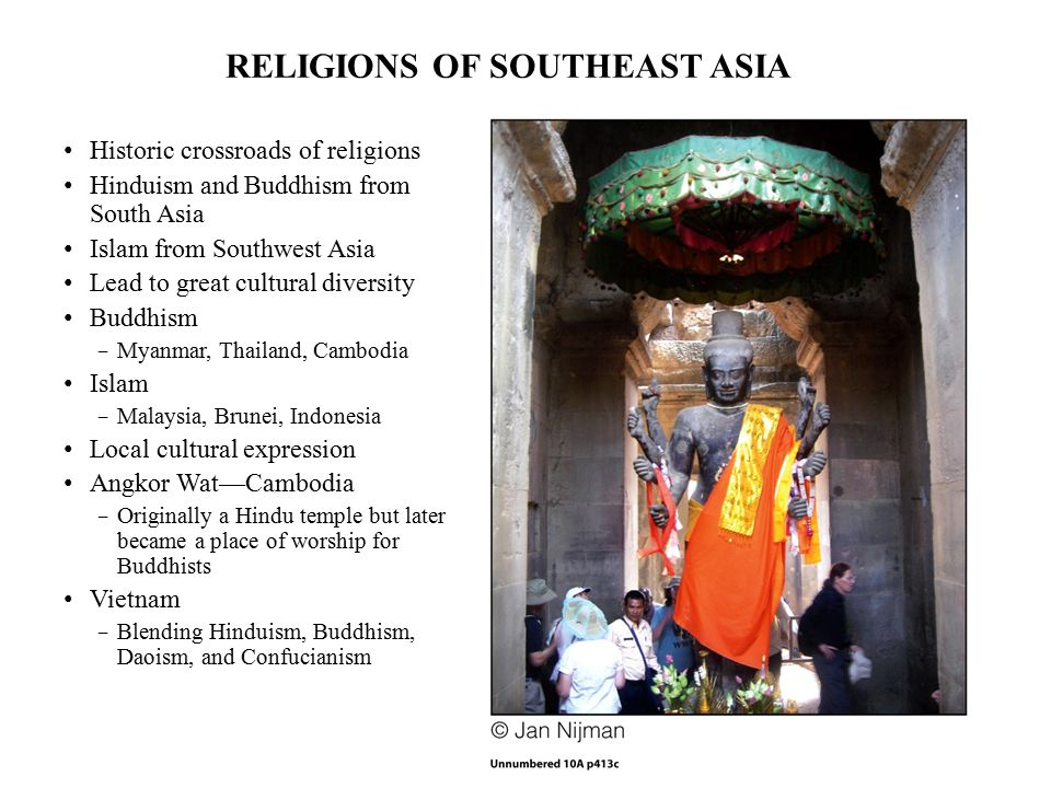 RELIGIONS OF SOUTHEAST ASIA