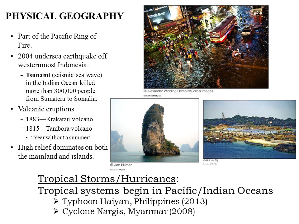 Tropical Storms/Hurricanes: