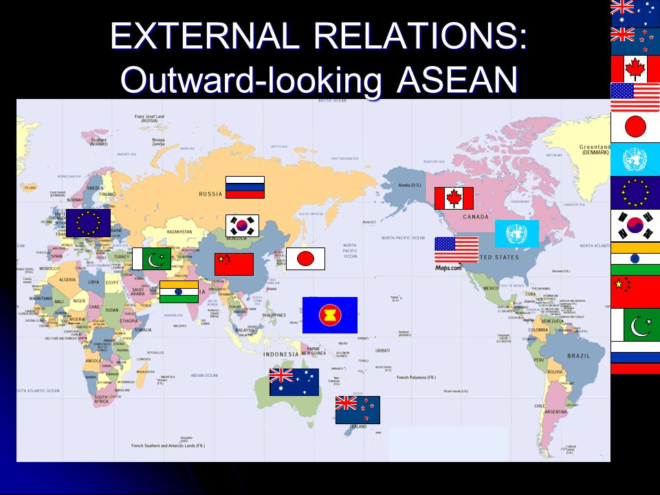 EXTERNAL RELATIONS: Outward-looking ASEAN