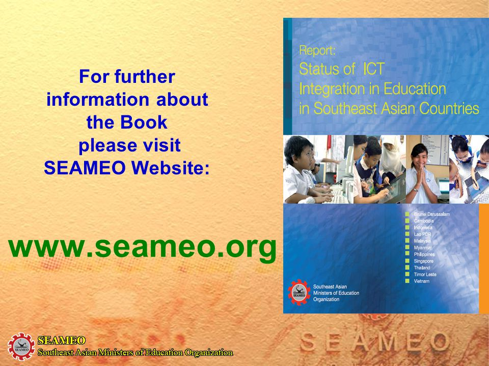For further information about the Book please visit SEAMEO Website: