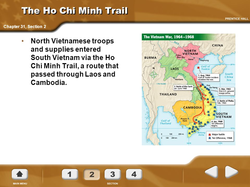 The Ho Chi Minh Trail Chapter 31, Section 2.