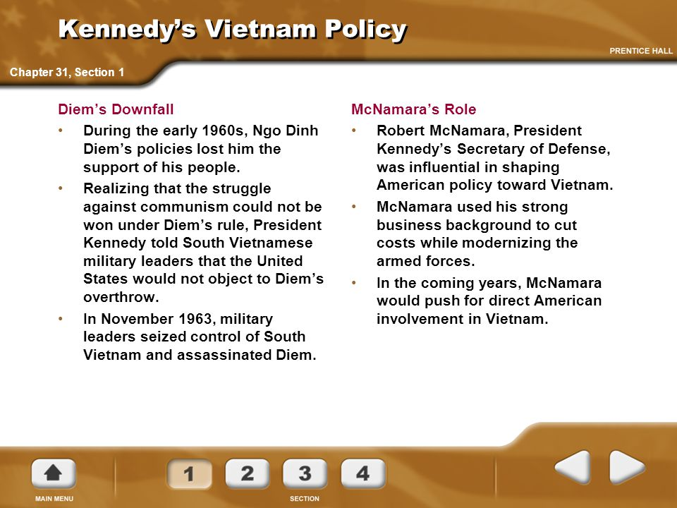 Kennedy's Vietnam Policy