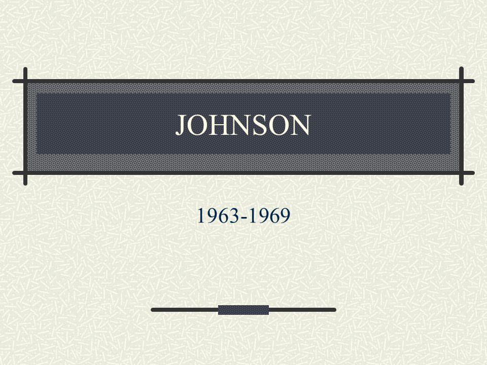JOHNSON 1963-1969