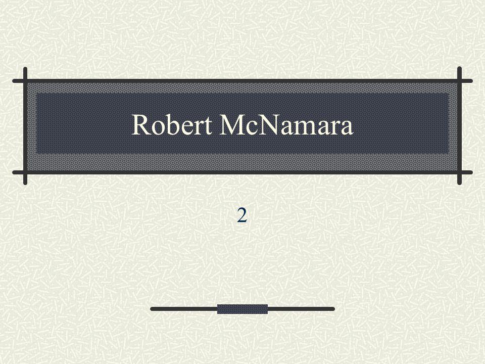 Robert McNamara 2