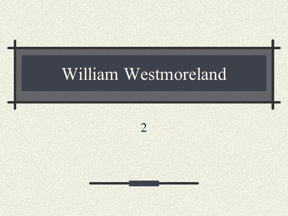 William Westmoreland 2
