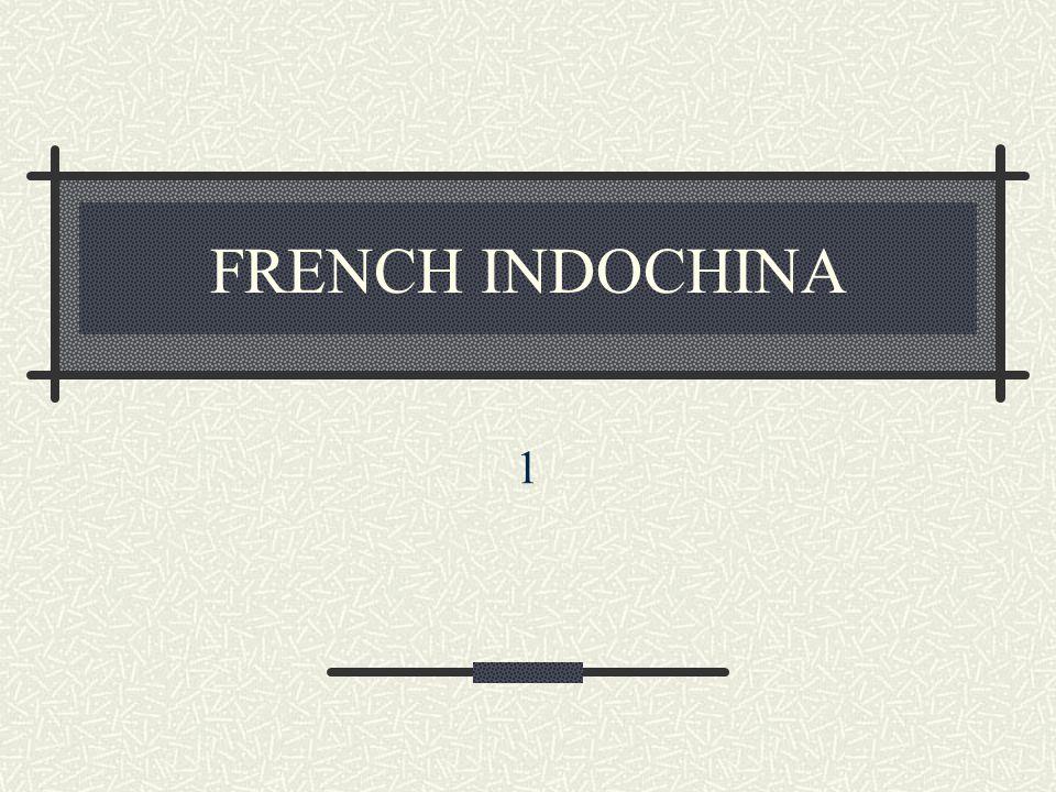 FRENCH INDOCHINA 1