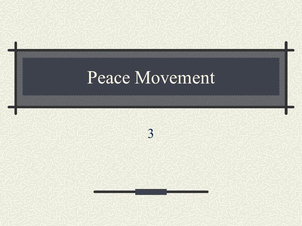 Peace Movement 3