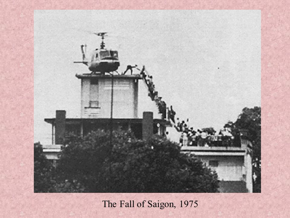 The Fall of Saigon, 1975