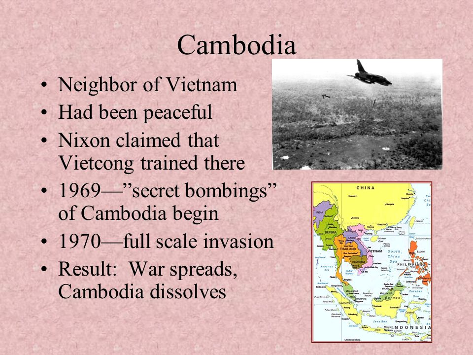 Cambodia Neighbor of Vietnam Had been peaceful
