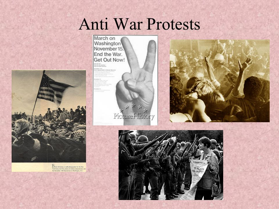 Anti War Protests