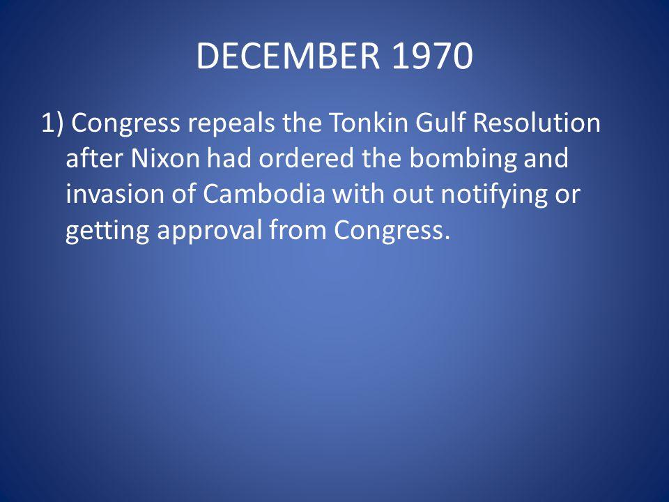 DECEMBER 1970