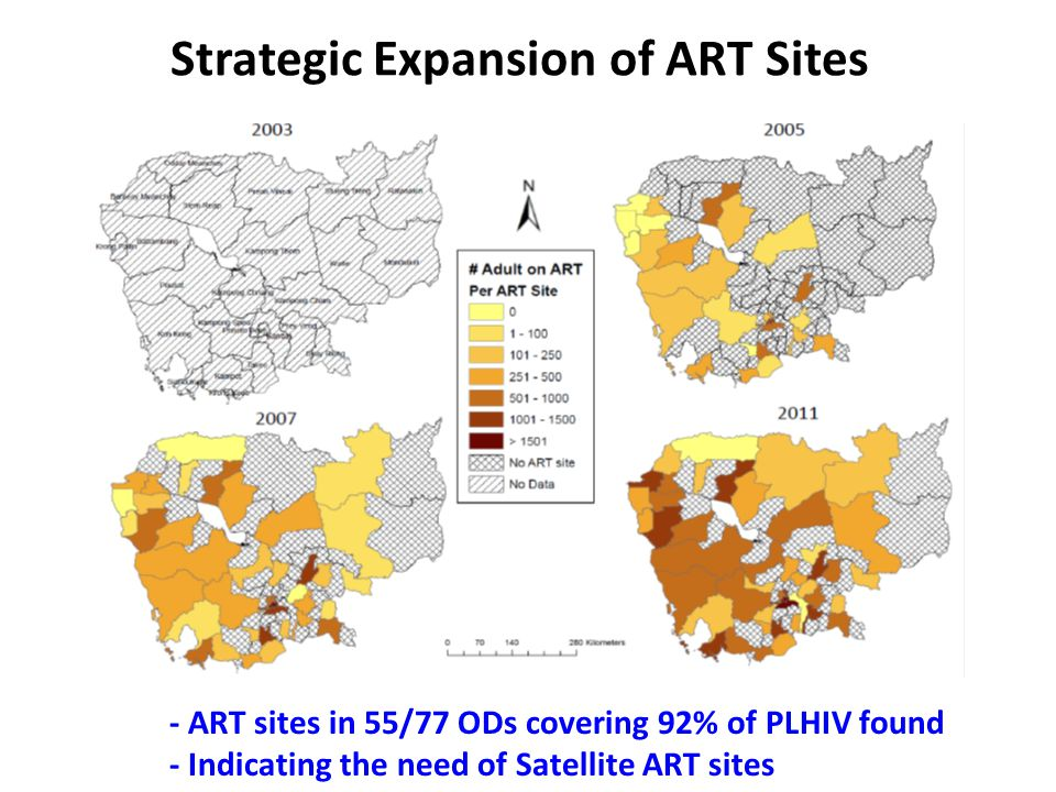 Strategic Expansion of ART Sites