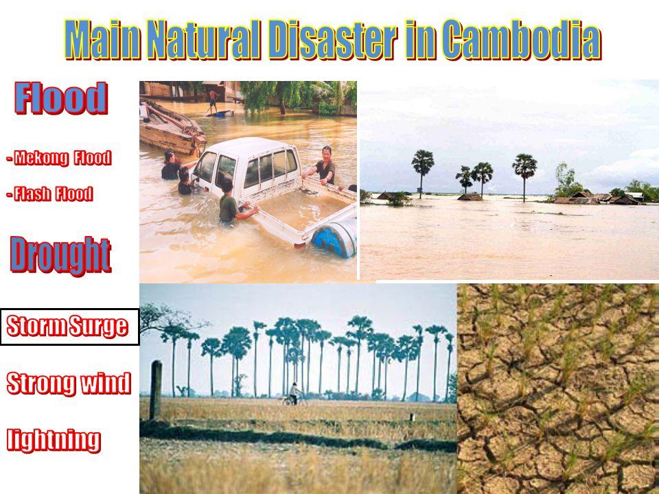 Main Natural Disaster in Cambodia