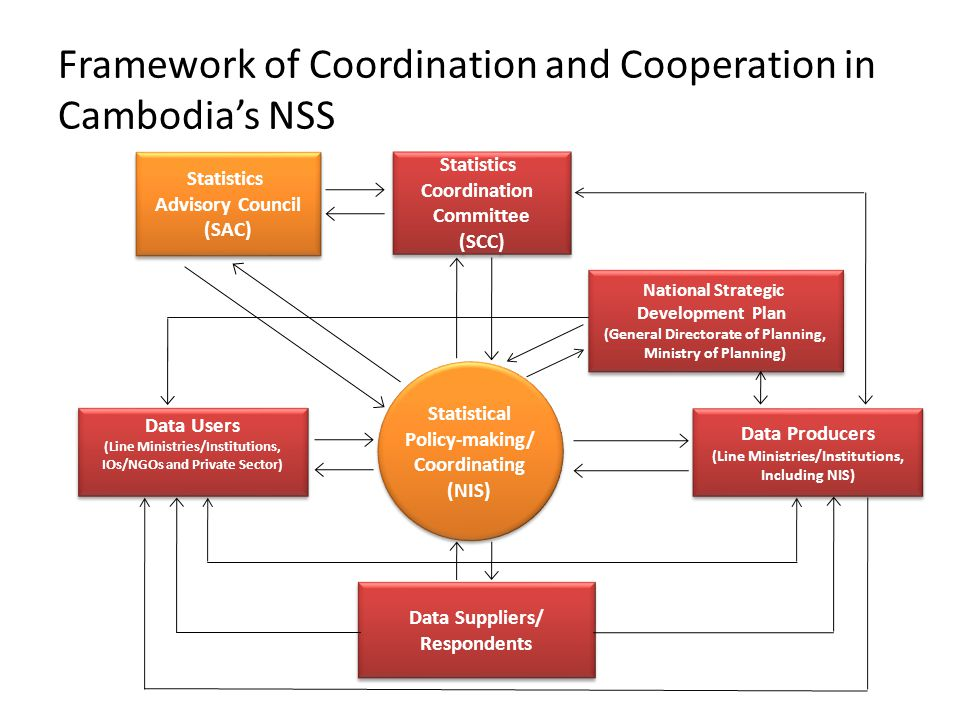 Framework of Coordination and Cooperation in Cambodia's NSS
