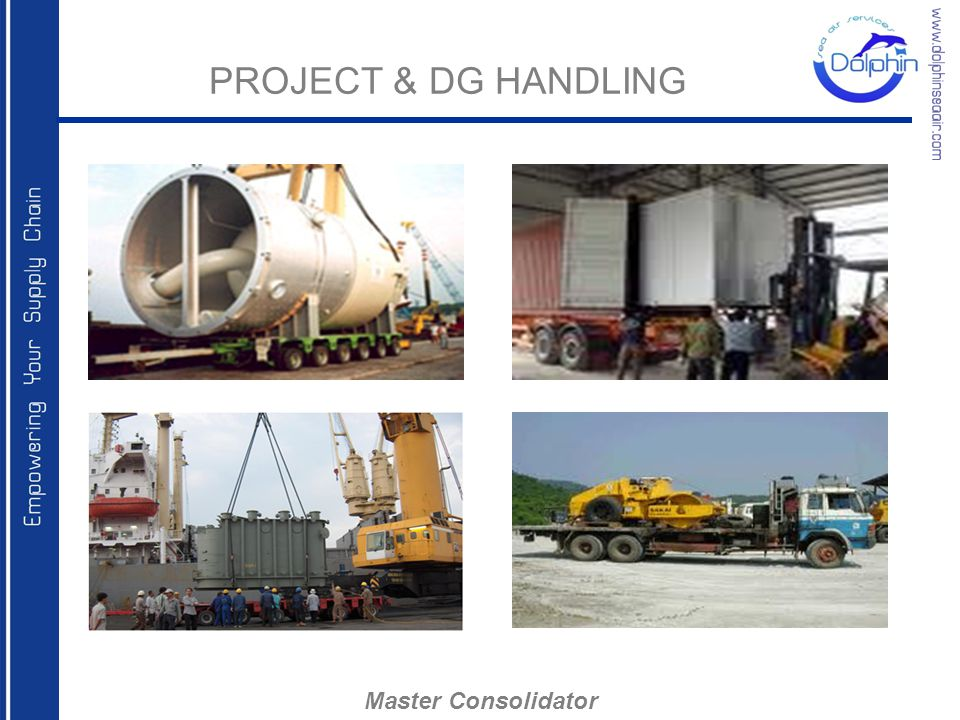PROJECT & DG HANDLING Master Consolidator