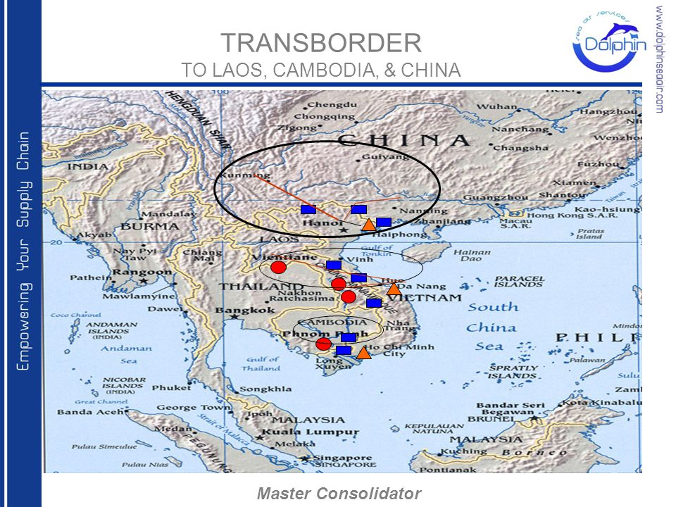 TRANSBORDER TO LAOS, CAMBODIA, & CHINA