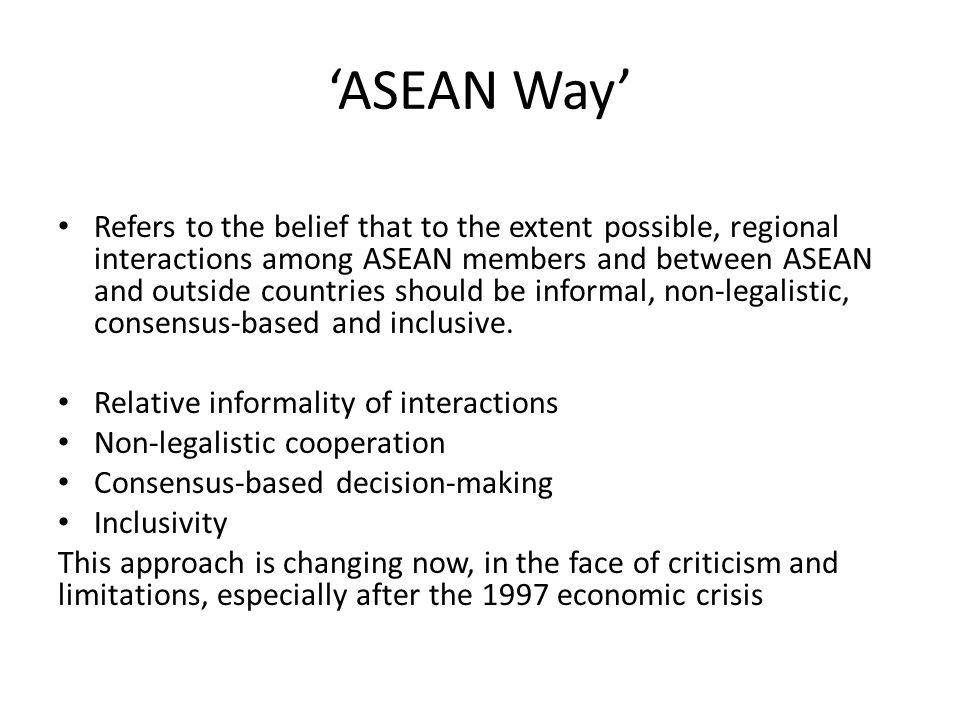 'ASEAN Way'