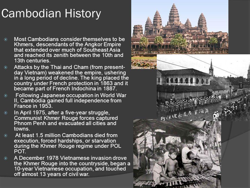 Cambodian History