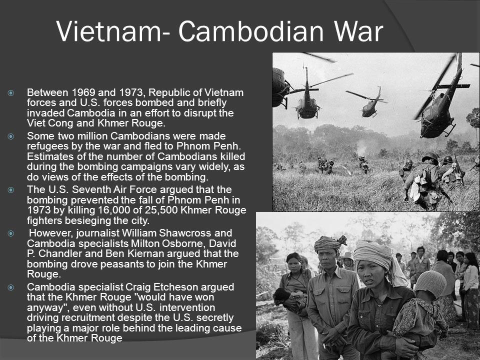 Vietnam- Cambodian War