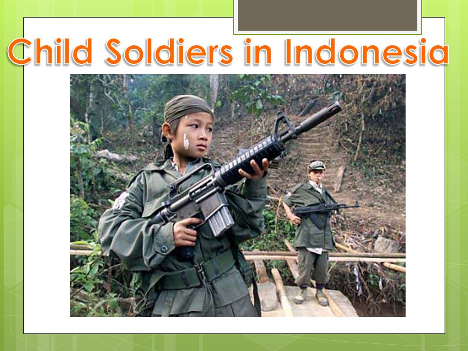 Child Soldiers in Indonesia